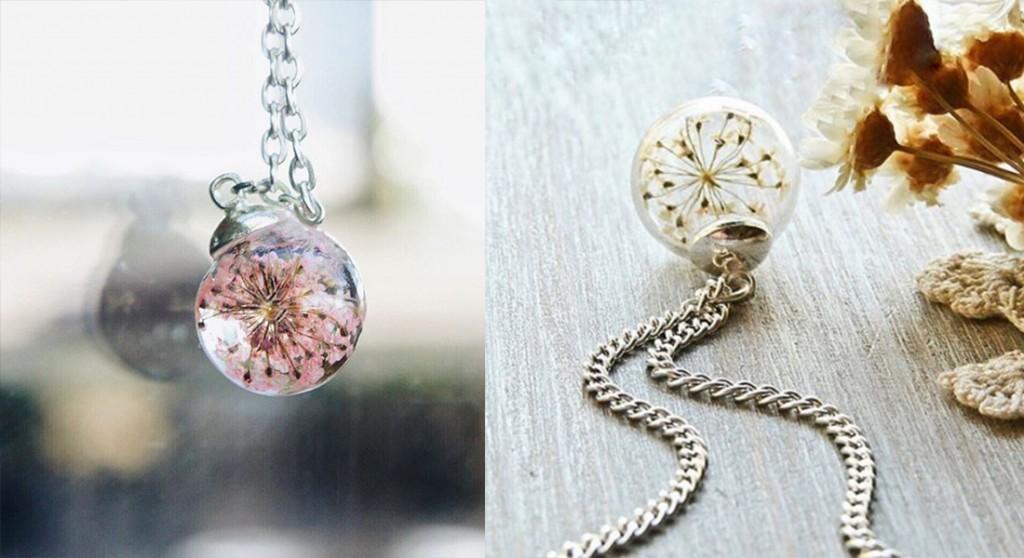 flower jewelry งดงามราวดอกไม้