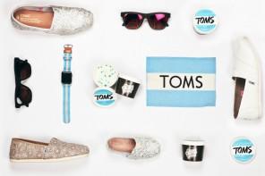 TOMS x Guss Damn Good ไอศครีมรส TOMS สุดน่ารัก