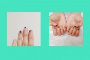 minimal nail art แต่งเล็บน่ารักสไตล์ญี่ปุ่น