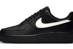 """อัพเดทรองเท้าคอลเลคชั่นใหม่ Nike Introduces the Air Force 1 Low """"Black Leather"""" Pack"""