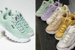 FILA's Disruptor 2 Arrives in Four New Spring-Ready Colorways
