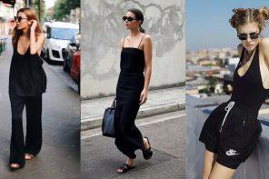 20 ลุค Black Style สีที่แมตช์ยังไงก็เท่!