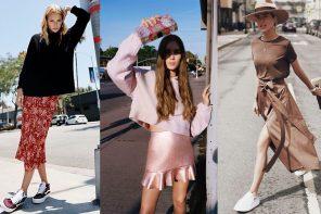 Street Style x Skirt ความลงตัวของลุคเท่ๆ สไตล์สาวๆ