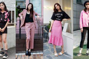 Get look หวานปนเท่ด้วย Black & Pink Colorways