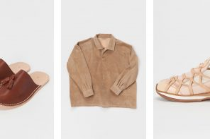 Hender Scheme's SS19 Collection Is Stacked With Leather Treats