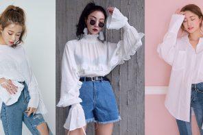 รวม 25 ลุค White & Jeans ความเบสิคบนความเบสิค ที่เข้ากันได้ง่ายๆ แบบลงตัว