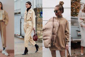 20 Outfit With Beige Items มาเปลี่ยนลุคหนาวนี้ให้ละมุน กับการแต่งตัวโทนสีเบจกัน