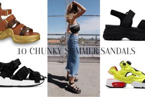 10 Chunky Summer Sandals With Sneaker Soles