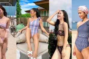 ชุดว่ายน้ำก็เผ็ช!ด้วยผ้าไทยได้ อย่าหยุดความสวยของผ้าไทยไว้แค่ลุคเดิม