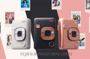 Fujifilm Instax Mini LiPlay กล้องโพราลอยใหม่จิ้มเลือกรูปดูแล้วปริ้นได้เลย!