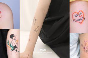 """ The Needles mizi "" cute & cool tattoos เกาหลี ดีต่อใจอีกแล้ว!"
