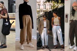 """ปัดฝุ่นกางเกงคุณพ่อ """" heavy over pants """" ไอเทมสุดคูลยิ่งใสดูยิ่งเท่"""
