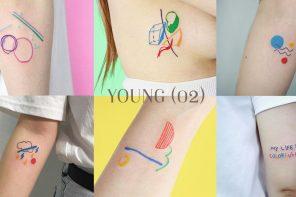 """"""" Young (02) """" tattoo สีสันสดใสกับลายเส้นเฉพาะตัว ที่เห็นแล้วน่าเจ็บตัวมากๆ"""