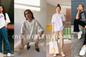เปลี่ยนลุคเป็นสาวเท่สไตล์ Over & Over กับ Ver. T-Shirt แมทช์ง่ายน้อยชิ้น