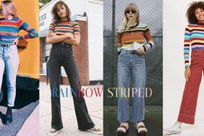 """สดใสรับซัมเมอร์ด้วย """" Rainbow Striped """" แฟชั่น Vintage ที่หน้าร้อนนี้ต้องมี"""