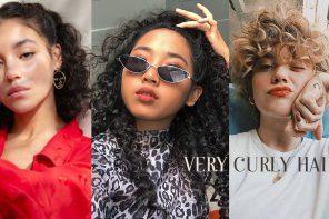 """สวยเท่แบบสาวสาย ฝ. ด้วยไอเดียทรงผม """" Very curly hair"""""""