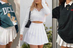 Tennis skirt ไอเทมที่กลับมาได้รับความนิยมอีกครั้ง ชวนให้นึกถึงการแต่งตัวยุคคุณย่ายังสาว กับ Preppy Style