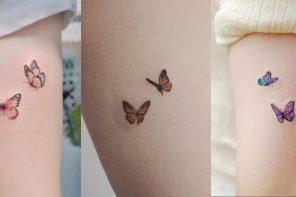 Butterfly tattoos อีกหนึ่งลอยสักน่ารักๆ ที่เหมาะกับสาวๆ