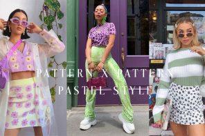 pattern x pattern PASTEL Style ลายชนลายฉบับสีหวาน