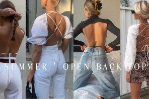 ร้อนนี้ต้องเจอกับ Summer ' Open back top ' เทรนด์อวดหลังสวยเซ็กซี่เบาๆ
