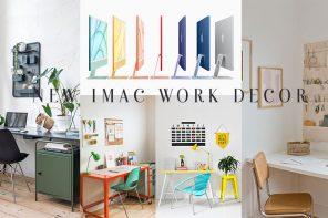 New iMac work decor จัดโต๊ะทำงานใหม่ต้อนรับ Imac 2021