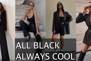 All black always cool!
